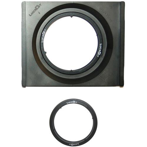 Formatt Hitech 165mm Lucroit Wide-Angle 2-Slot Filter Holder and Adapter Ring for Nikon NIKKOR 14-24mm f/2.8G Lens Kit