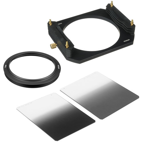 Formatt Hitech 100 x 125mm Soft-Edge Graduated ND Filter Starter Kit with 77mm Adapter Ring