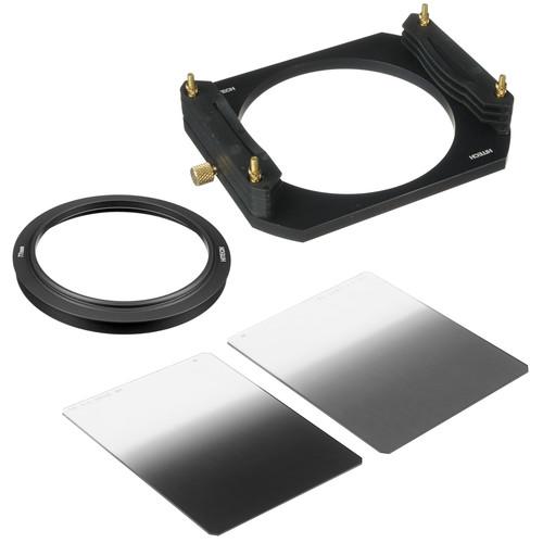 Formatt Hitech 100 x 125mm Soft-Edge Graduated ND Filter Starter Kit with 77mm Adapter Ring