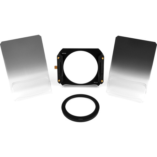 Formatt Hitech 100 x 125mm Soft-Edge Graduated ND Filter Starter Kit with 85mm Adapter Ring
