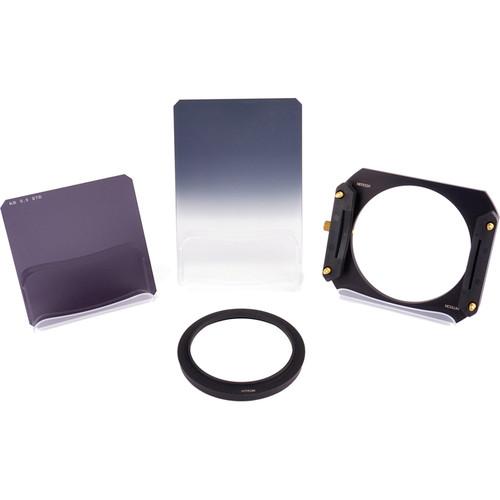 Formatt Hitech 100mm Neutral Density Filter Mixed Starter Kit with 62mm Adapter Ring