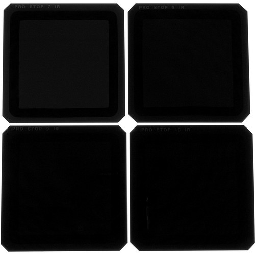 Formatt Hitech 100 x 100mm ProStop IRND Four Filter Kit