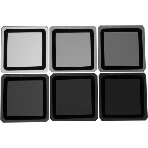 Formatt Hitech 100 x 100mm ProStop IRND Six Filter Kit