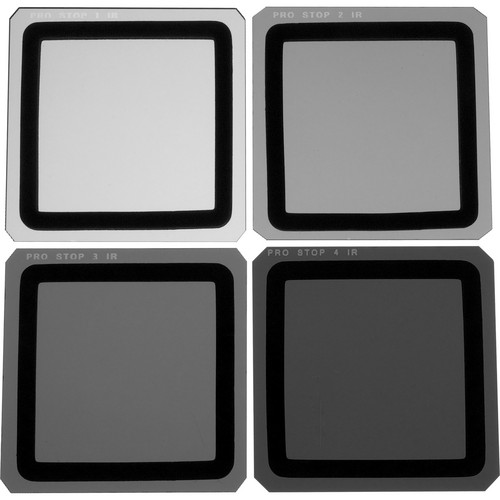Formatt Hitech 165 x 165mm ProStop IRND Four Filter Kit