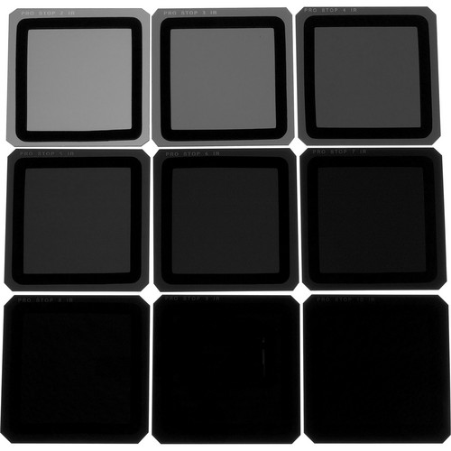 Formatt Hitech 165 x 165mm ProStop IRND Nine Filter Kit