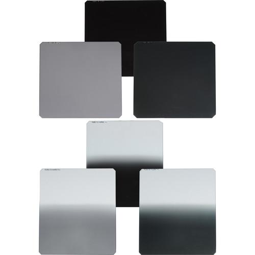 Formatt Hitech 67x85mm Solid Neutral Density and Soft Edge Graduated Neutral Density Master Filter Kit