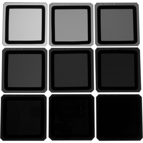 Formatt Hitech 85 x 85mm ProStop IRND Nine Filter Kit