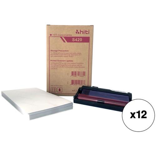 """HiTi S420 4X6"""" PrInt Kit (600 Prints)"""