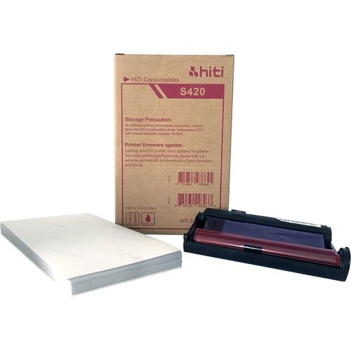 """HiTi S420 4 x 6"""" Print Kit (50 Prints)"""