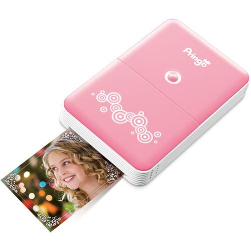 HiTi Pringo P231 Portable Photo Printer (Pink)