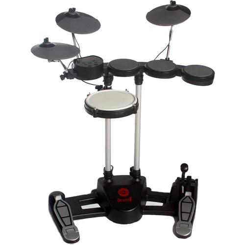Hitman Drum-1 - Compact Electronic Drum Kit (Black)