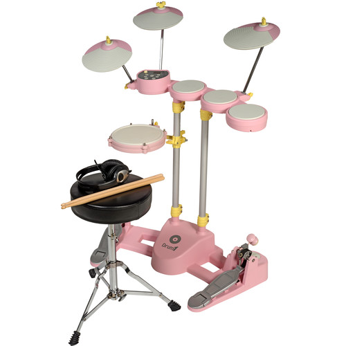 Hitman Drum-1 - Compact Electronic Drum Kit (Pink)