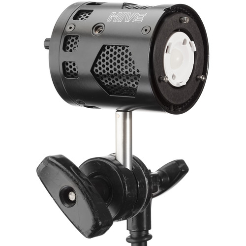 HIVE LIGHTING Bee 50-C Open Face Omni-Color LED Light (Black)
