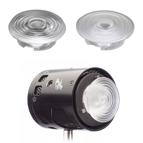 HIVE LIGHTING Bee 50-C Omni-Color LED Light with 3-Lens Clip-On Fresnel Set