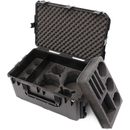 HIVE LIGHTING Hard Rolling Flight Case for Three C-Series Lights (Black)