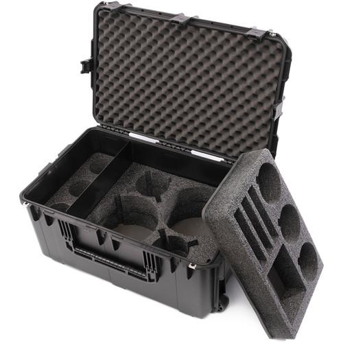 HIVE LIGHTING C-Series 3 Light Hard Rolling Case with Custom Foam