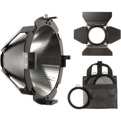 HIVE LIGHTING Super Spot Reflector, Barndoors, and Lens Kit for Bee 50-C, Wasp 100-C, and Hornet 200-C LED Lights