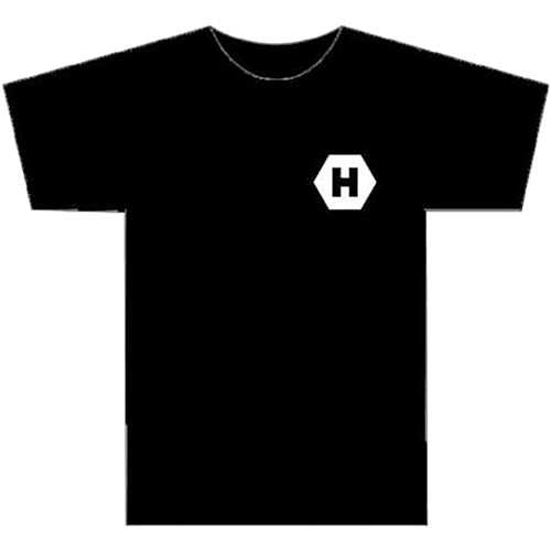 HIVE LIGHTING Fire Bulb Graphic Tee Shirt (Medium)