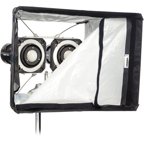 HIVE LIGHTING Hornet 200-C 2-Light Softbox Kit with Flight Case