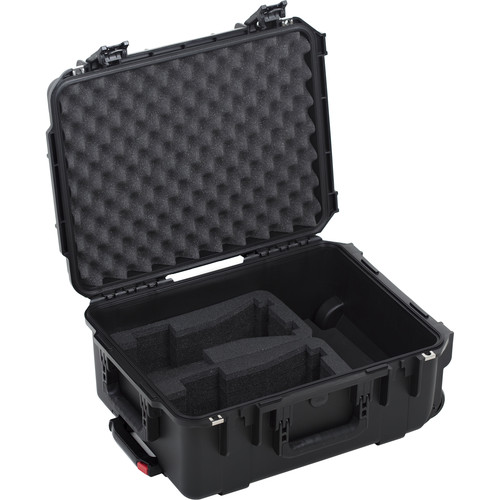 HIVE LIGHTING Hard Rolling Case for Two Wasp 100-C LED Lights