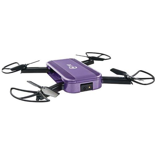 Hobbico C-me GPS Camera Drone (Purple)