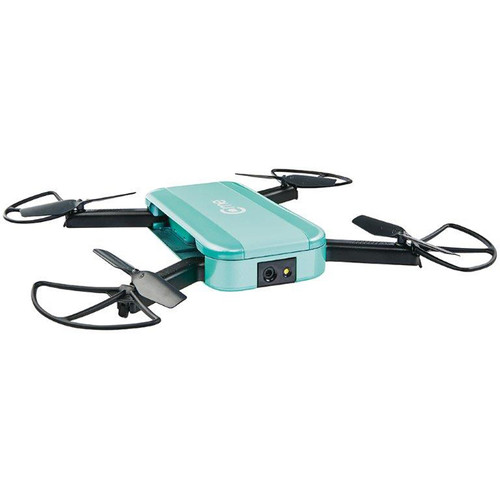 Hobbico C-me GPS Camera Drone (Teal)