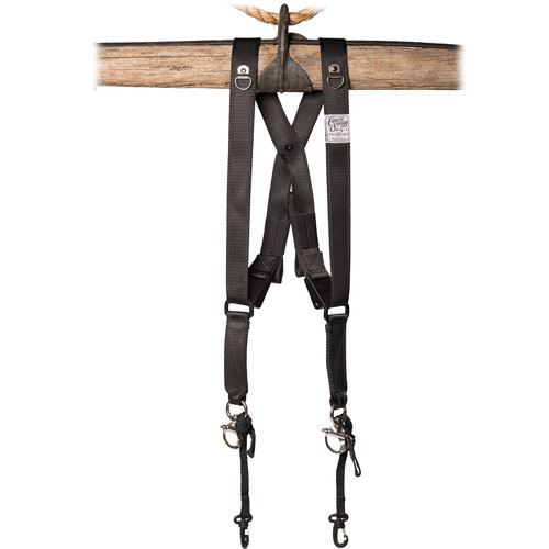 HoldFast Gear Money Maker Two-Camera Swagg Harness (Black)
