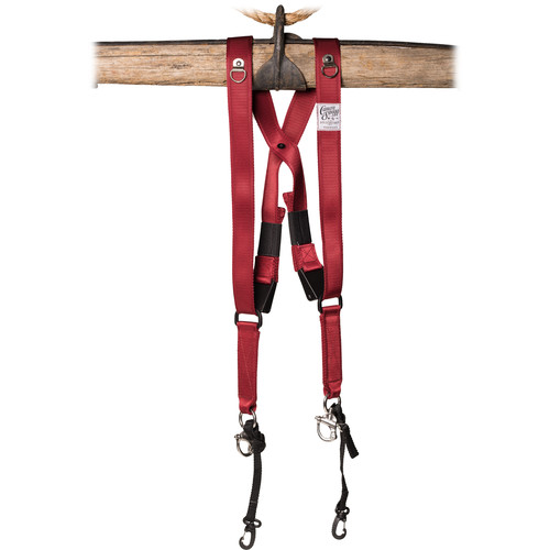 HoldFast Gear Money Maker Two-Camera Swagg Harness (Red)
