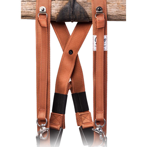 HoldFast Gear MoneyMaker Three-Camera Swagg Harness (Copper, Cotton Canvas)