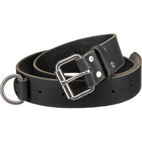 HoldFast Gear Indispensable Water Buffalo Leather Belt (Black, Medium)