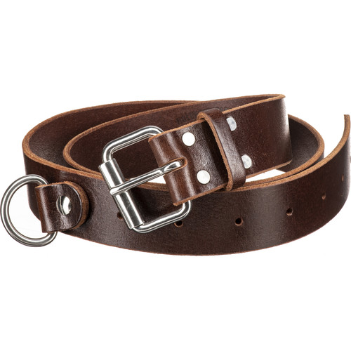 HoldFast Gear Indispensable Water Buffalo Leather Belt (Burgundy, Large)