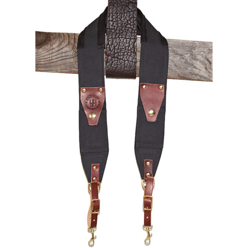 HoldFast Gear Ruck Strap (Black/Brown)