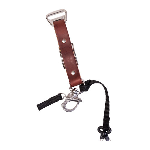 HoldFast Gear Adjustable Portrait Slider for MoneyMaker Harness (Bridle Leather, Chestnut)
