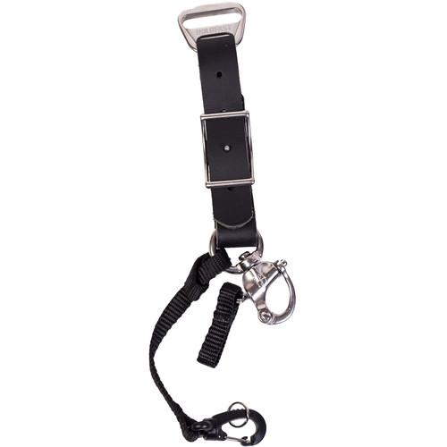 HoldFast Gear Adjustable Portrait Slider for MoneyMaker Harness (Water Buffalo Leather, Black)