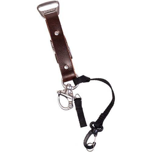 HoldFast Gear Adjustable Portrait Slider for MoneyMaker Harness (Water Buffalo Leather, Burgundy)
