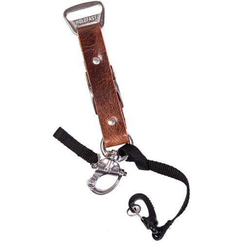 HoldFast Gear Adjustable Portrait Slider for MoneyMaker Harness (Water Buffalo Leather, Tan)