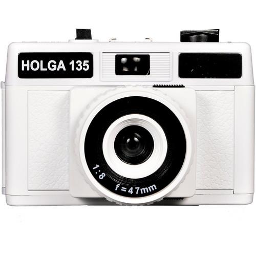 Holga 135 Plastic 35mm Camera (White)