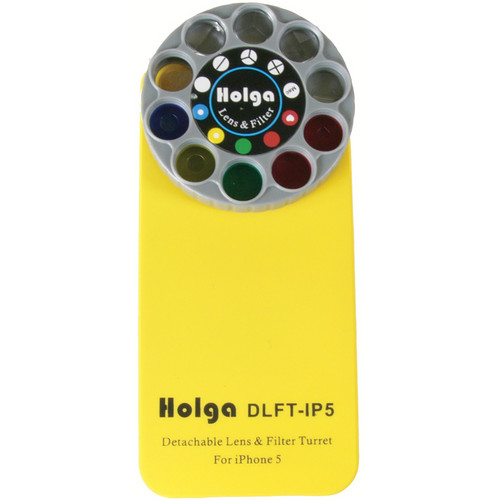 Holga DLFT-IP5 Phone Case for iPhone 5 (Yellow)
