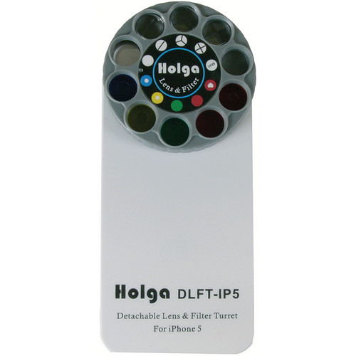 Holga DLFT-IP5 Phone Case for iPhone 5 (White)