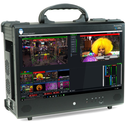 PRODUCTION BOT Switch 4 Portable Live Production Switcher