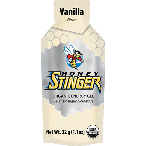 Honey Stinger Energy Gels, 1.1oz (Organic Vanilla, 24-Pack)