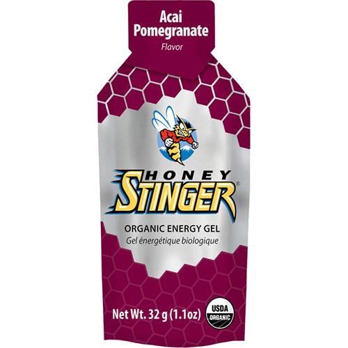 Honey Stinger Energy Gels, 1.1oz (Organic Acai & Pomegranate, 24-Pack)