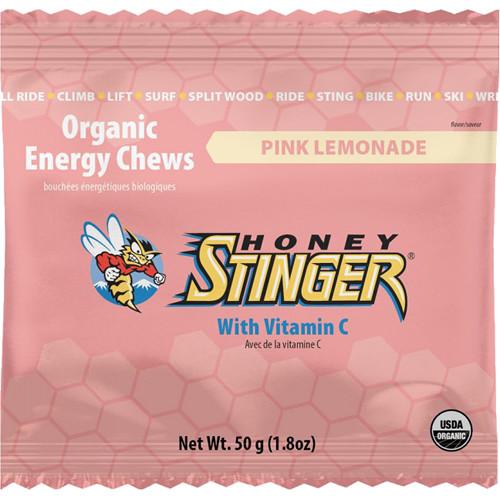Honey Stinger Organic Energy Chews (Pink Lemonade, 12-Pack)