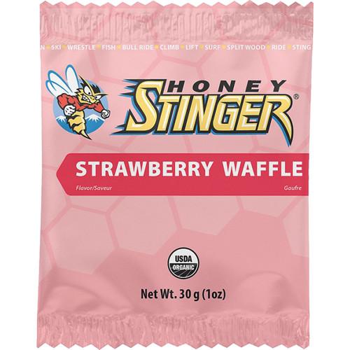 Honey Stinger Organic Waffles (Strawberry, 16-Pack)