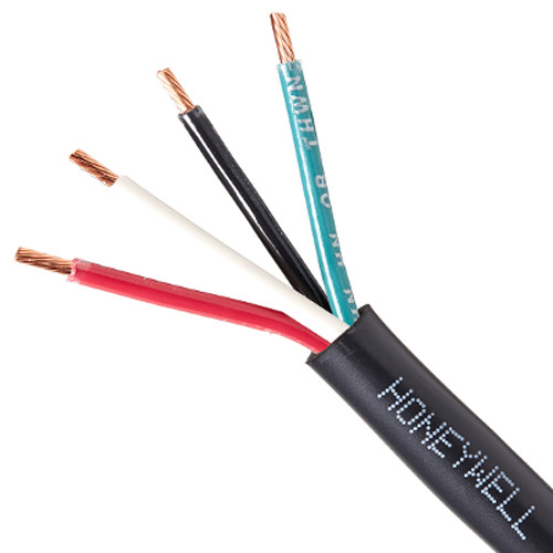 Honeywell 16/4 Stranded Minisplit 600V THHN Cable (Reel, 250', Black)