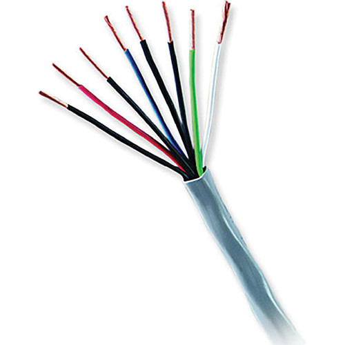 Honeywell Genesis Series 22 AWG Unshielded Multi-Conductor Cable with 4 Unpaired Conductors (Orange, 500' Speedbag)