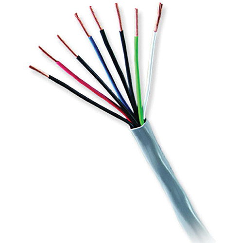Honeywell Genesis Series 22 AWG Unshielded Multi-Conductor Cable with 4 Unpaired Conductors (Gray, 500' Pull Box)