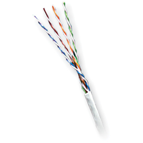 Honeywell Genesis Category 5e Unshielded Twisted Pair Plenum Communication Cable (Pull Box, 1000', White)