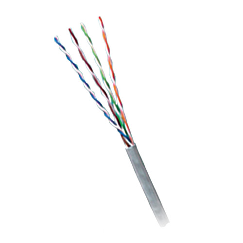 Honeywell Genesis Category 5e Unshielded Twisted Pair Plenum Communication Cable (Pull Box, 1000', Gray)