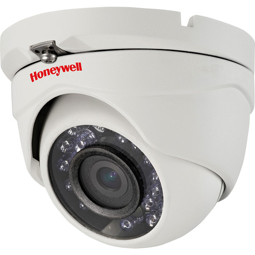 Honeywell Performance Series 960H Resolution True Day/Night Indoor/Outdoor IR Ball Camera with 3.6mm Fixed Lens (NTSC, White)